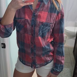 Wet Seal plaid shirt